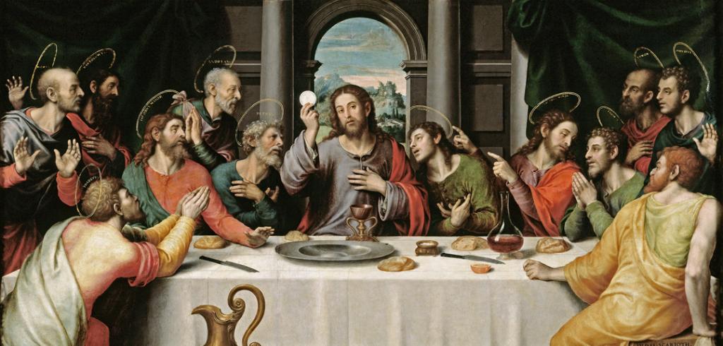 Juan de Juanes - Last Supper, 1562