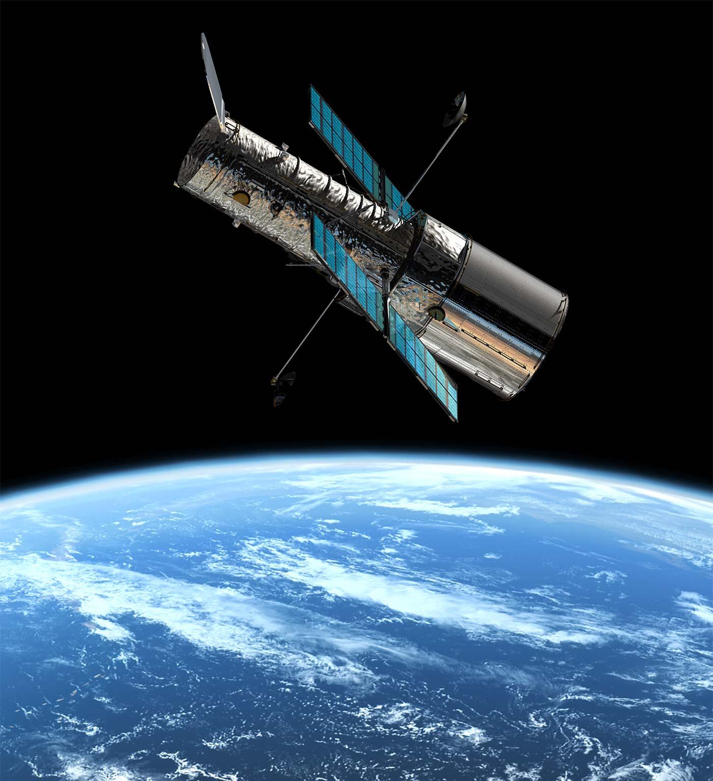 Hubble space telescope turns 25 onepeterfive for Images of space craft