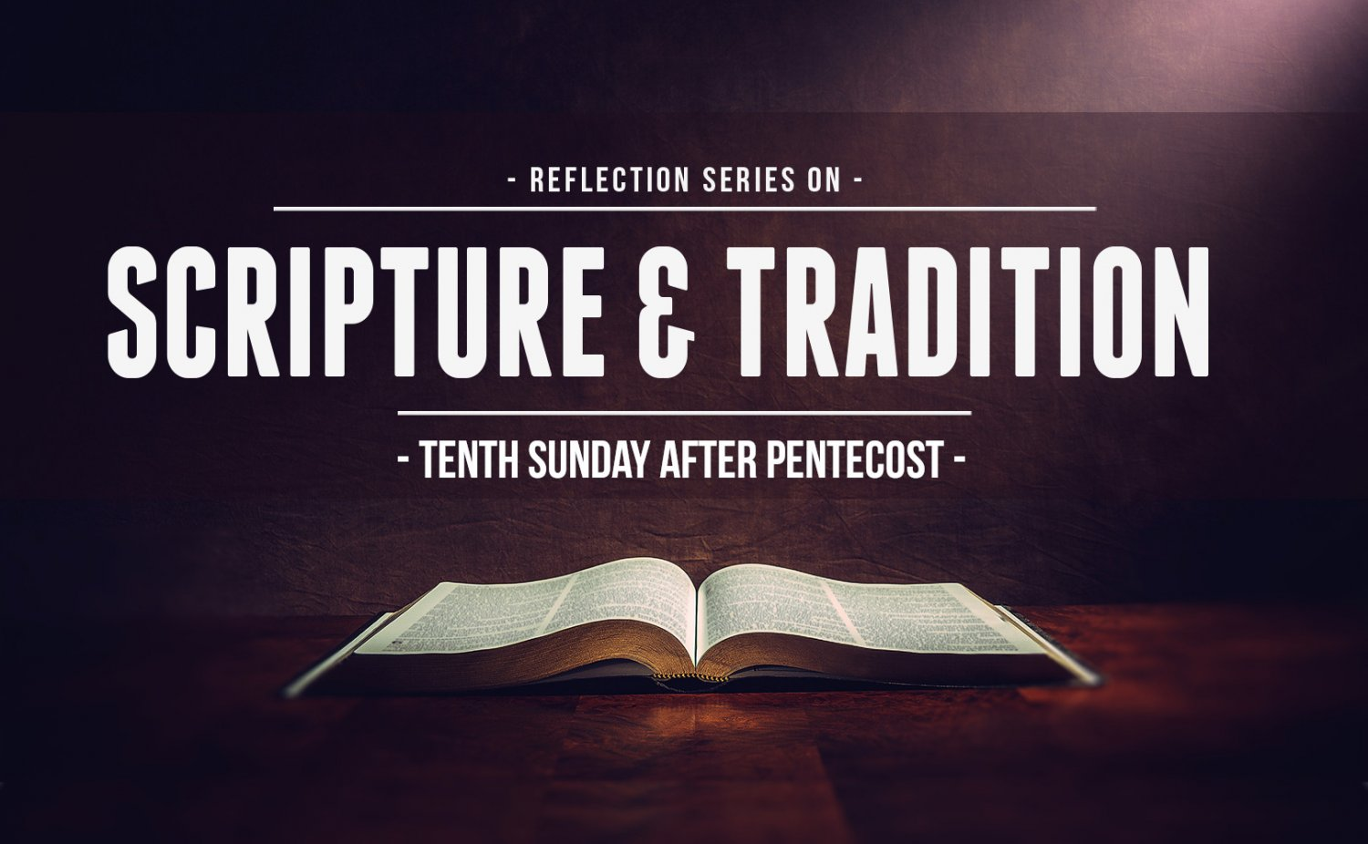 Tenth Sunday
