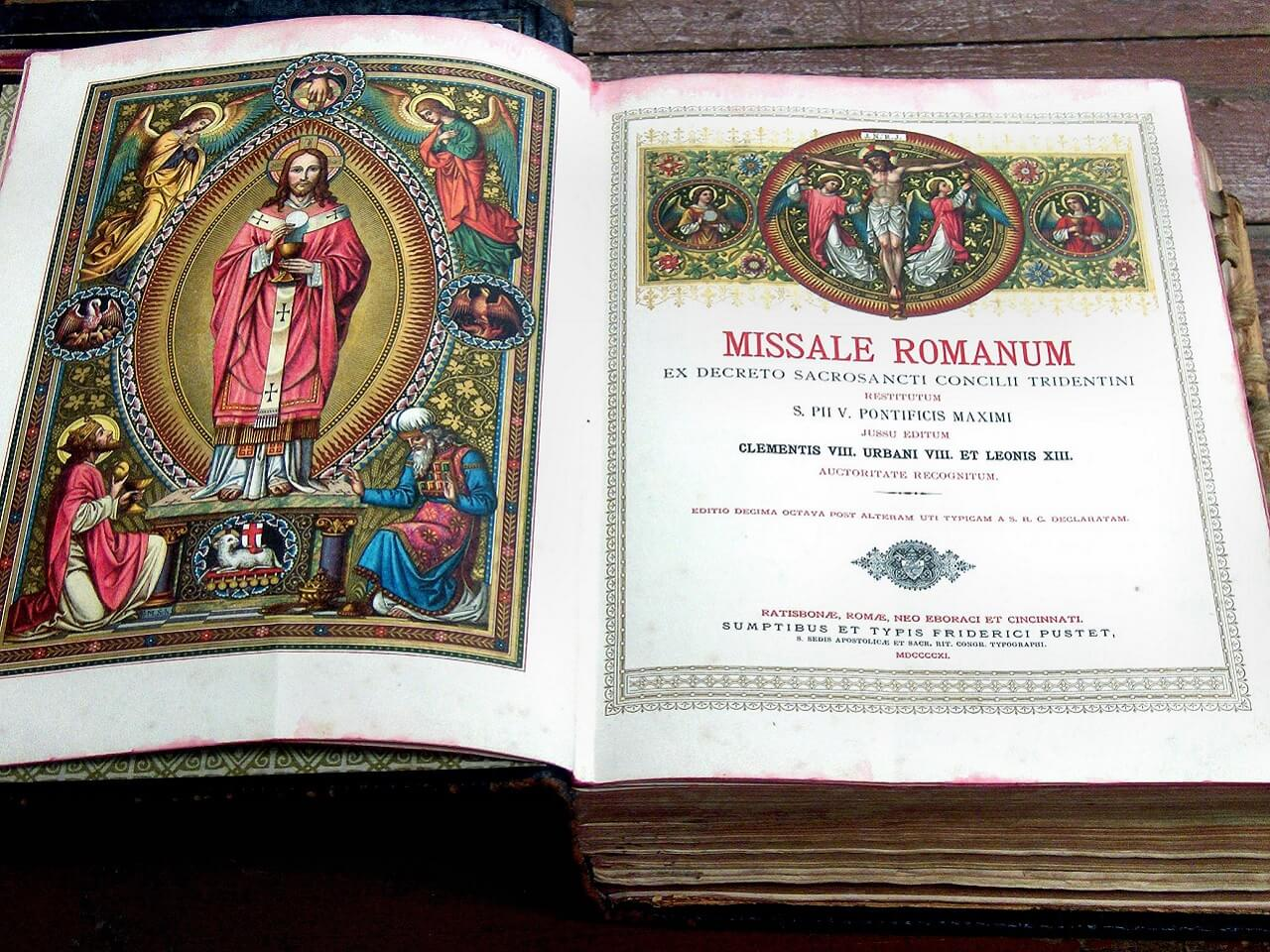 colorful missal