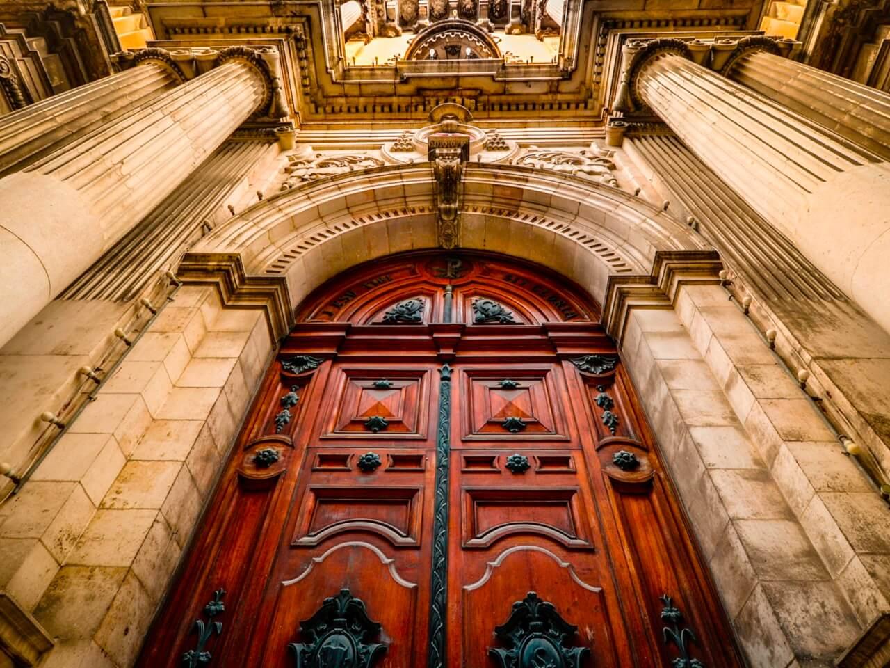 church doors return